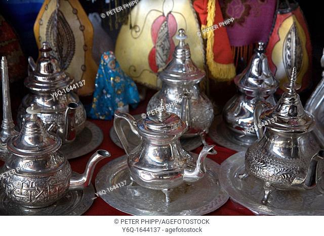Moroccan Teapots in Marrakech