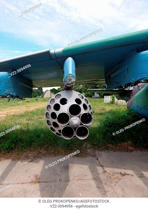 Armament of aircraft and helicopters rockets, bombs, cannons