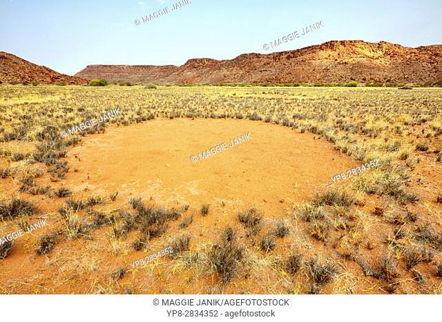 Fairy Circles, Twyfelfontein, Namibia, Africa