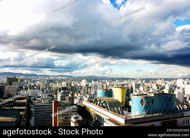 Stormy Sky over Sao Paulo