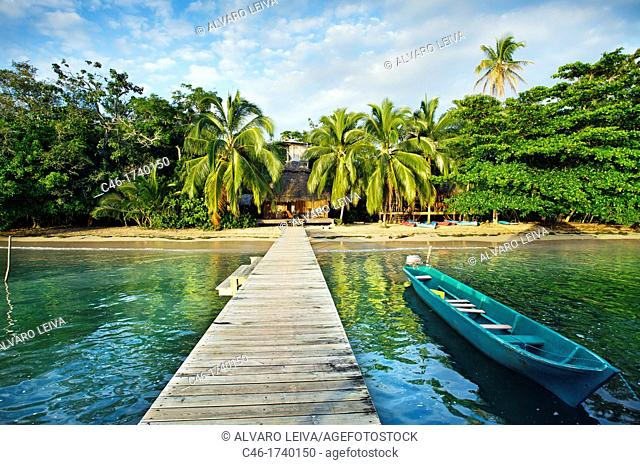 Al natural resort, Bastimentos island, Bocas del Toro province, Caribbean sea, Panama