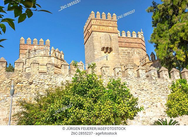 San Marcos Castle in El Puerto de Santa Maria, province of Cádiz, Andalusia, Spain