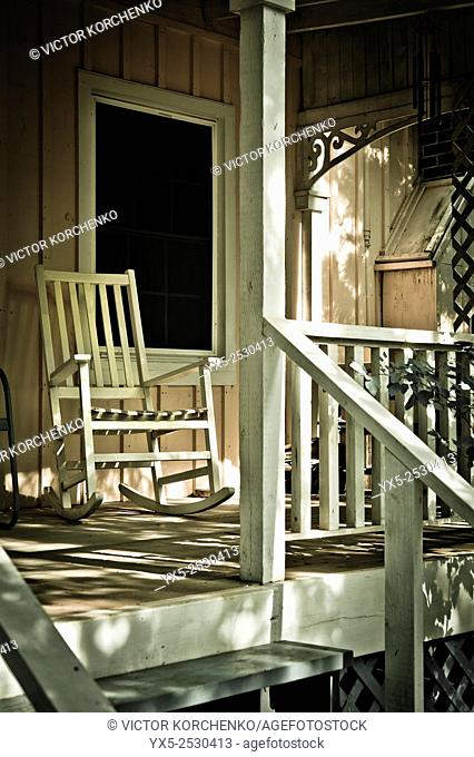 country house porch