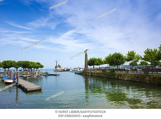 Port, Constance - Lake Constance, Baden-Wuerttemberg, Germany, Europe