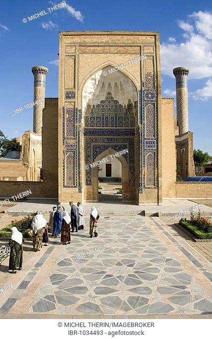 Guri Amir Mausoleum, Samarkand, UNESCO World Heritage Site, Uzbekistan, Central Asia