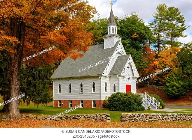 Saint Bridget Cornwall CT - It stands today as it did more than one hundred years ago after withstanding the harsh winter storms that are common in CT