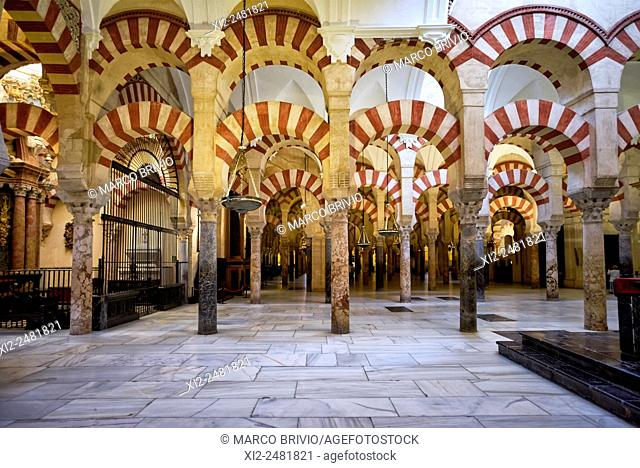 The Mosque-Cathedral of Cordoba, also known as the Great Mosque of Cordoba whose ecclesiastical name is the Cathedral of Our Lady of the Assumption is the...