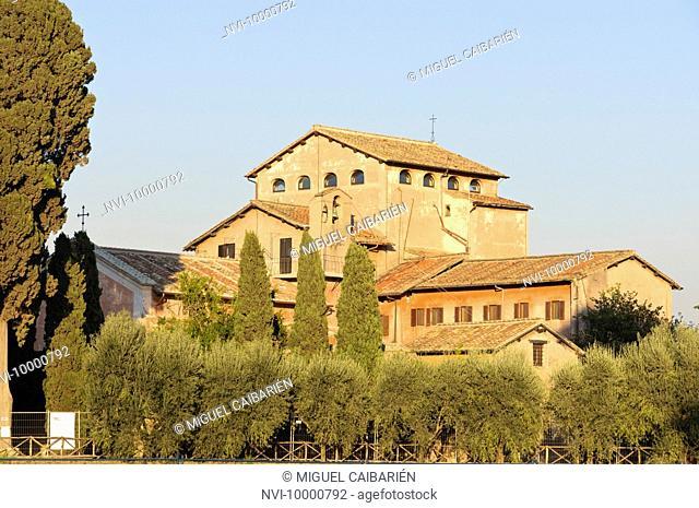 San Bonaventura al Palatino, Palatin hill, Rome, Italy