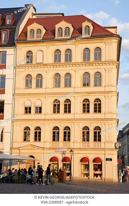 Wempe Jewellery and Watch Shop; Dresden; Germany; Europe