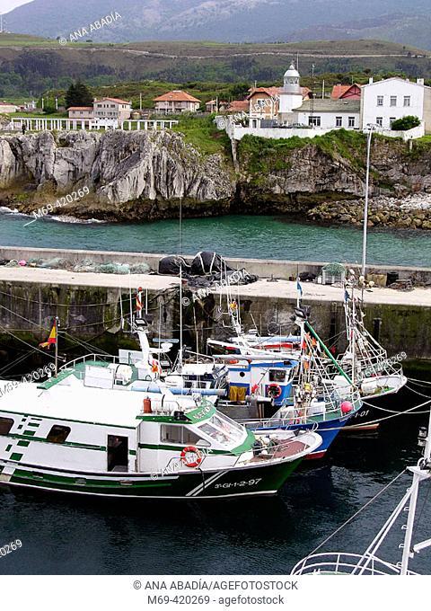 Port. Llanes.  Asturias. Spain
