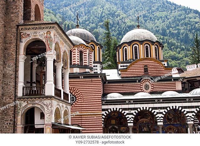 Monastery of Saint John of Rila, Rila Mountains, Bulgaria