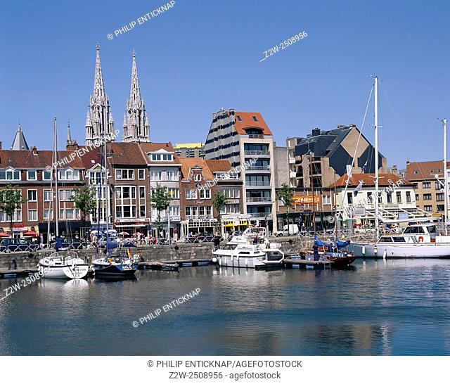 The Harbour at Ostend Belgium