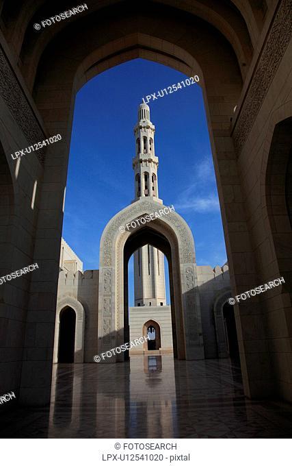 Sultan Qaboos Mosque, Greater Masqat, Oman