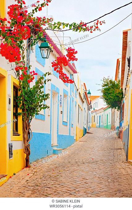 Romantische Strasse in Portugal
