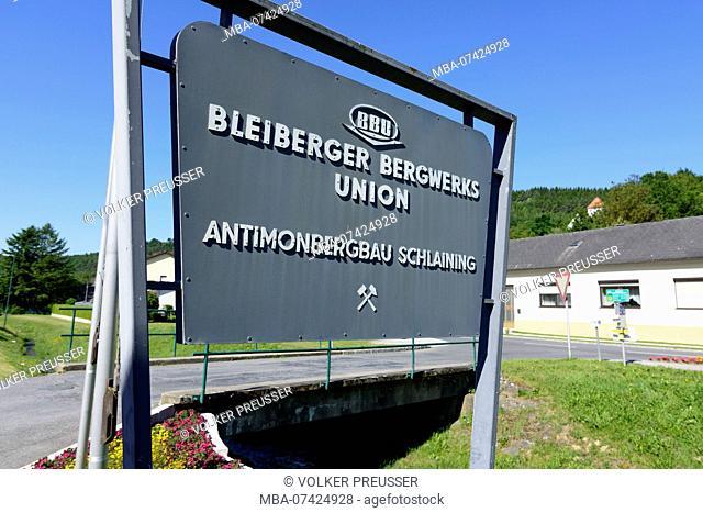 Stadtschlaining, Südburgenland, Burgenland, Austria