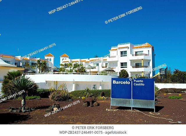 Barcelo hotel Puerto Castillo, Caleta de Fuste, Fuerteventura, Canary Islands, Spain, Europe