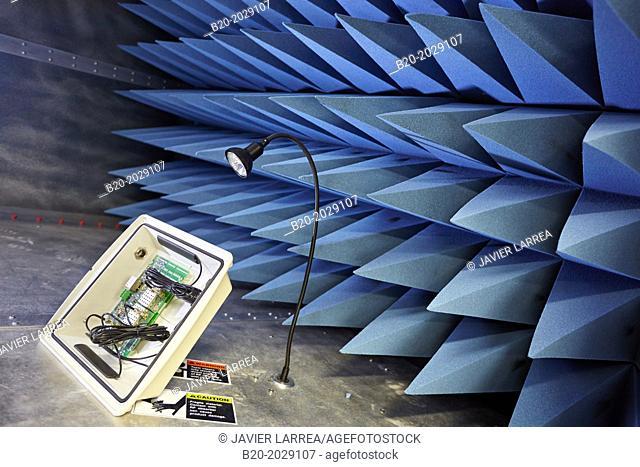Anechoic chamber. Technology Center. Donostia. San Sebastian. Gipuzkoa. Basque Country. Spain