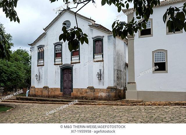Sao Joao Evangelista Church, Tiradentes, Minas Gerais, Brazil