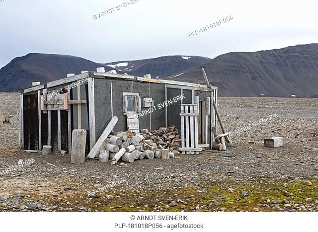 Ritter Hut, home to the Austrian author Christiane Ritter and her husband Hermann during the winter of 1934–1935, Svalbard / Spitsbergen, Norway