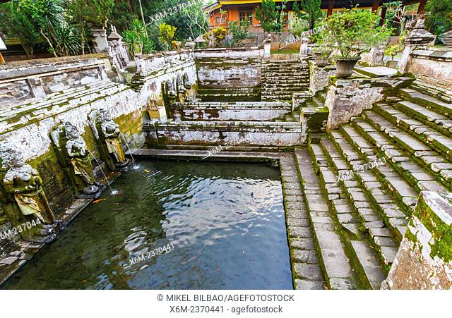 Bathing Temple in Goa Gajah or Elephant Cave. Ubud. Bali. Indonesia, Asia