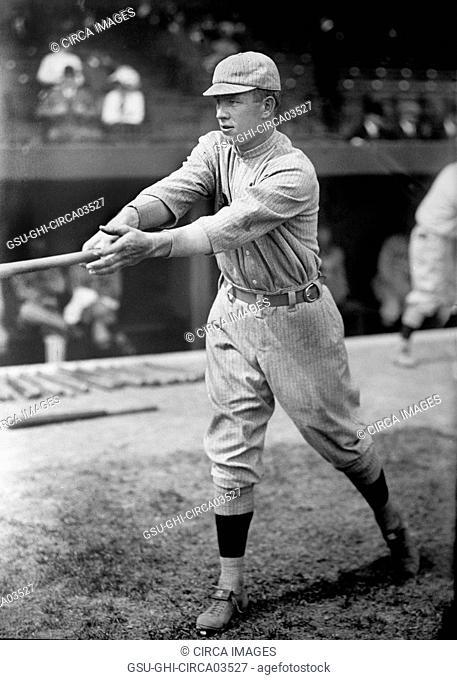 Tris Speaker, Major League Baseball Player, Boston Americans, Harris & Ewing, 1913