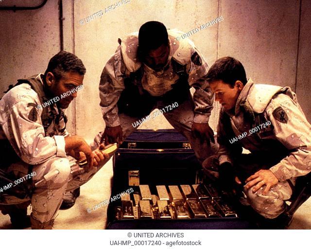 Three Kings - Es ist schön König zu sein, (THREE KINGS) USA 1999, Regie: David O. Russell, GEORGE CLOONEY, ICE CUBE, MARK WAHLBERG, Stichwort: Soldat, Uniform
