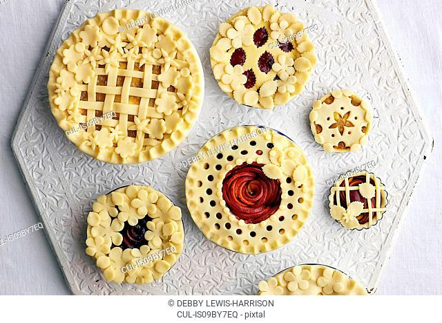 Uncooked tarts