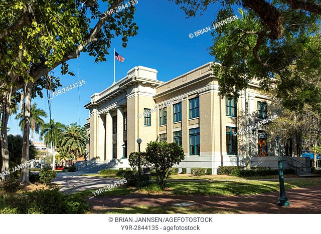 Old Lee County Courthouse (b 1915), Ft Myers, Florida, USA