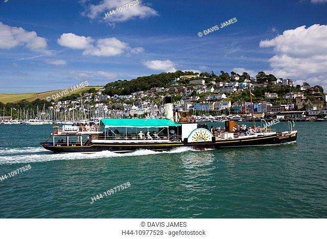 Kingswear, Dartmouth, South Hams, Devon, South-West England, Britain, UK, Europe, British, English, south coast, famous, classic, naval, harbour, harbor, town