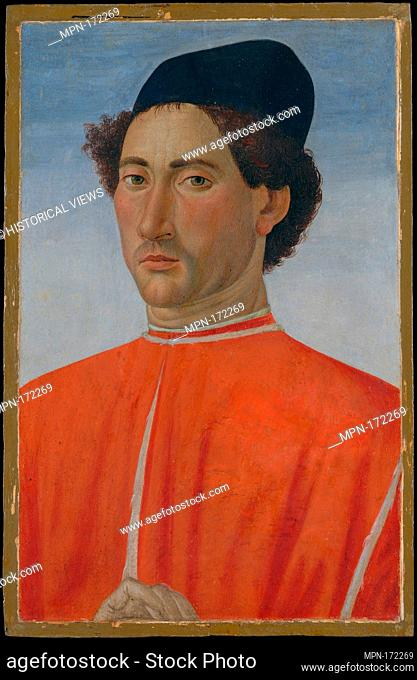 Portrait of a Man. Artist: Cosimo Rosselli (Italian, Florence 1440-1507 Florence); Date: ca. 1481-82; Medium: Tempera on wood; Dimensions: 20 3/8 x 13 in