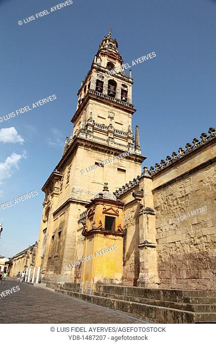 Facade of the Mosque of Cordoba, Spain