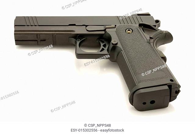 Weapon series. High capacity government model 4.3 close-up
