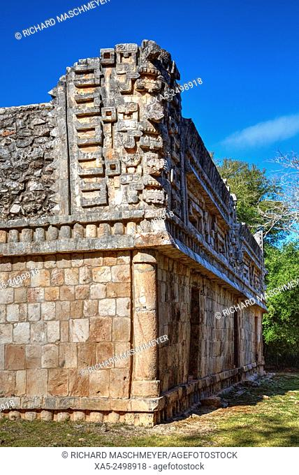The Palace, Xlapak Mayan Archaeological Site, Yucatan, Mexico