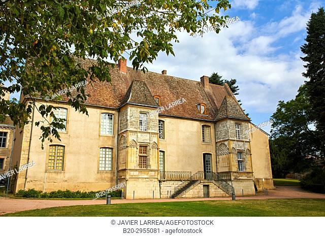 Mairie de Cluny, Cluny, Saone-et-Loire Department, Burgundy Region, Maconnais Area, France, Europe