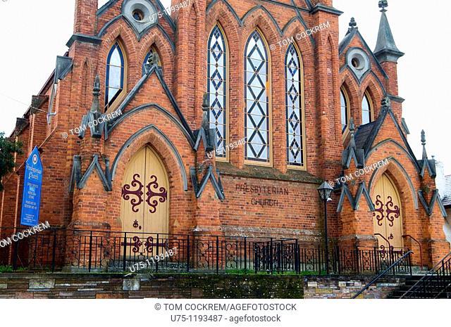 Presbyterian Church, Lyttleton street, Castlemaine, Victoria, Australia