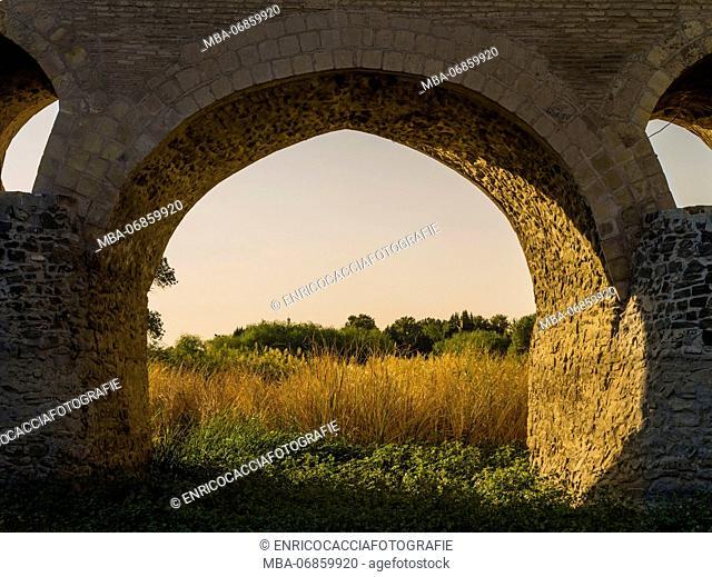 Historic Sharestan Bridge in Isfahan