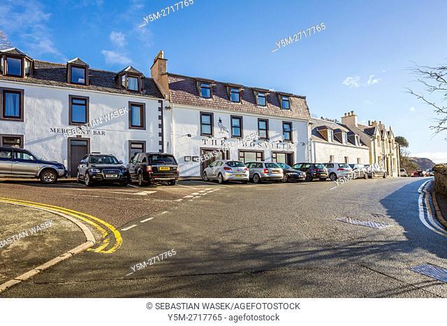 Portree, Isle of Skye, Highland, Scotland, United Kingdom, Europe