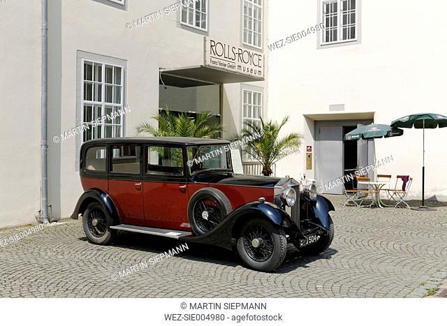 Austria, Vorarlberg, Dornbirn, Rolls-Royce Museum, Rolls Royce