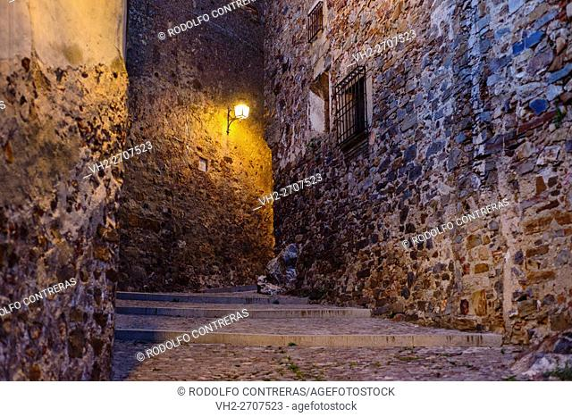 Medieval streets in Caceres