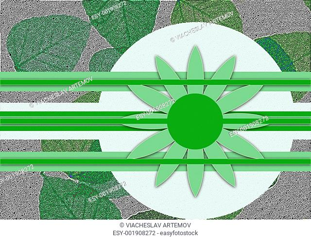 Background green vegetation