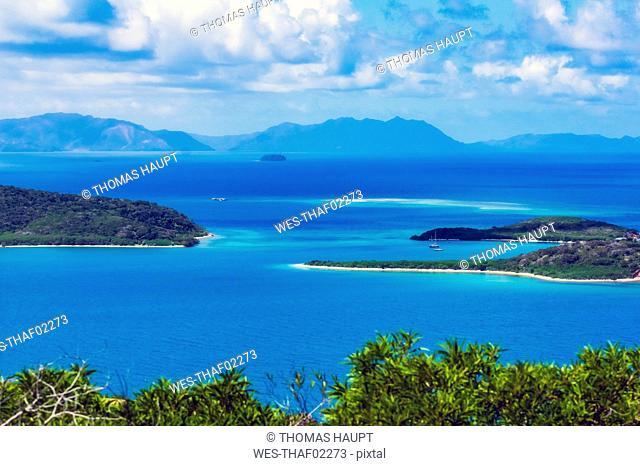 New Caledonia, Noumea, bay, New Caledonian barrier reef