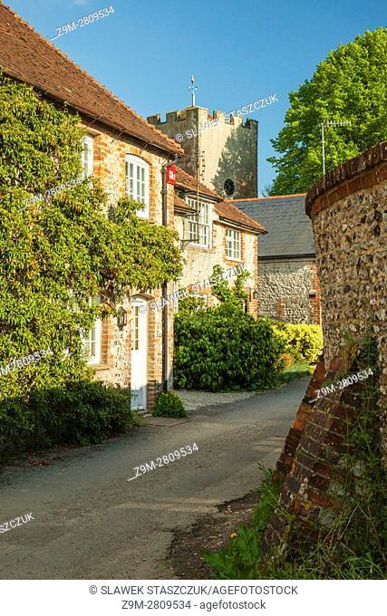 Singleton village, West Sussex, England