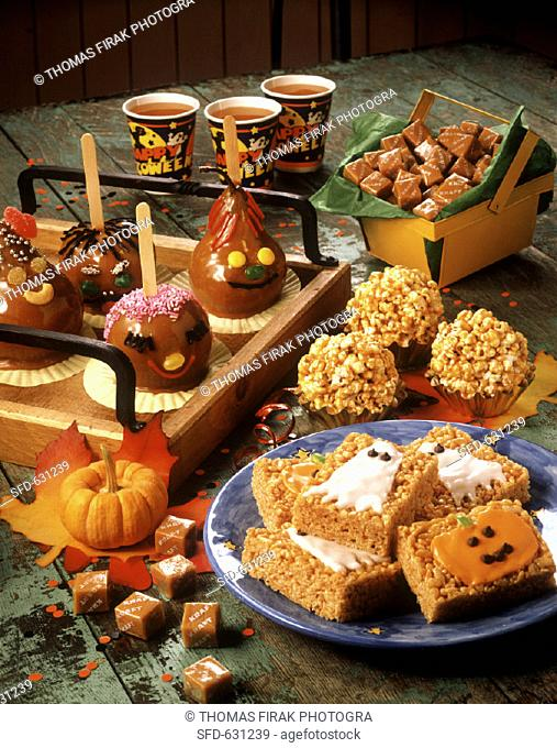Assorted Halloween Party Treats