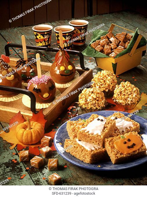Assorted Halloween Party Treats