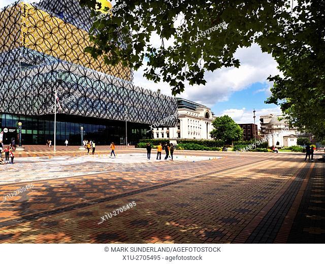 Library of Birmingham Building in Centenary Square Birmingham West Midlands England