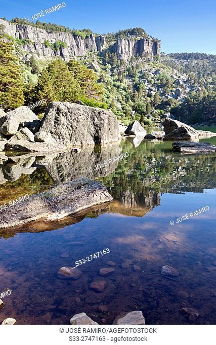 Black Lagoon in the Picos de Urbión. Soria. Castilla León. Spain. Europe