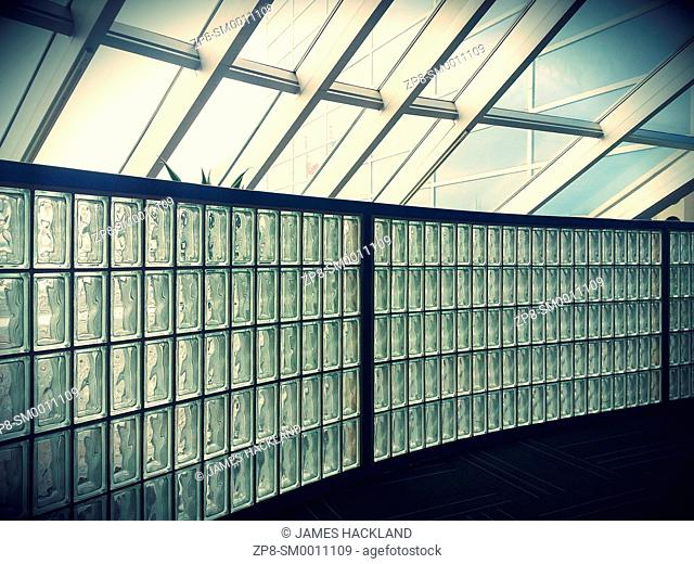 Interesting architecture in the Amex Bank of Canada head office. Markham, Ontario, Canada