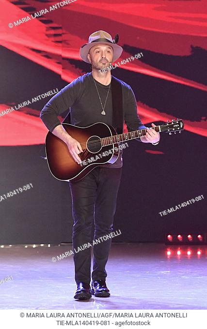Joe Bastianich during the performance at the talent show ' Ballando con le stelle ' (Dancing with the stars) Rome, ITALY-14-04-2019