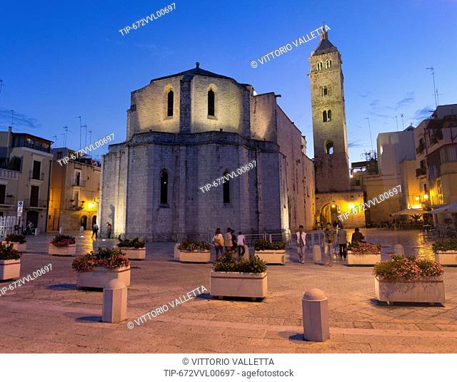 Italy, Apulia, Barletta, Santa Maria Maggiore cathedral