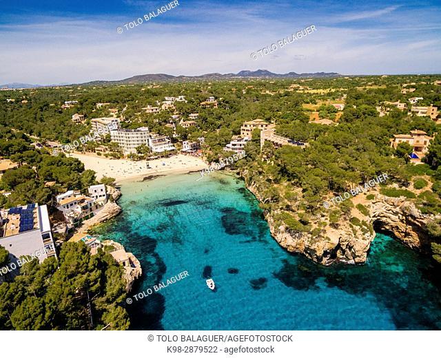 cala Santanyí, Santanyí, Mallorca, balearic islands, spain, europe